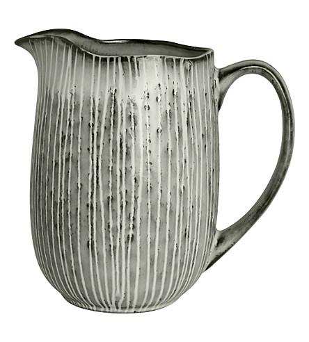 BROSTE Nordic sea stoneware jug