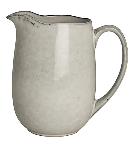 BROSTE Nordic Sand stoneware milk jug