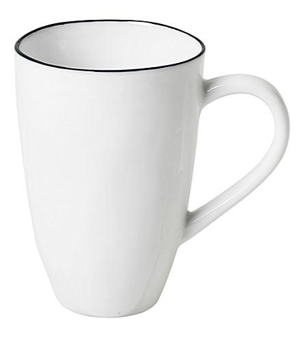 BROSTE Salt porcelain mug