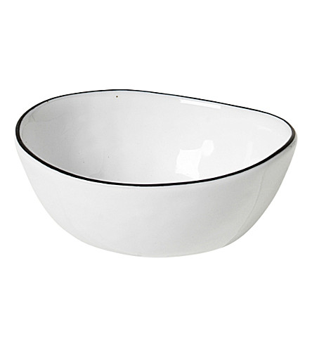 BROSTE Salt porcelain bowl