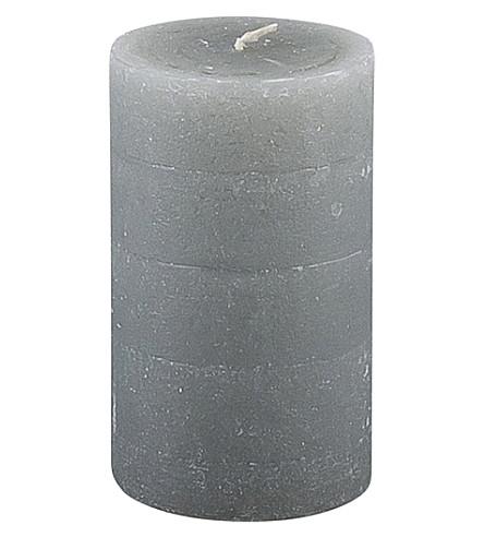 BROSTE Rustic pillar candle