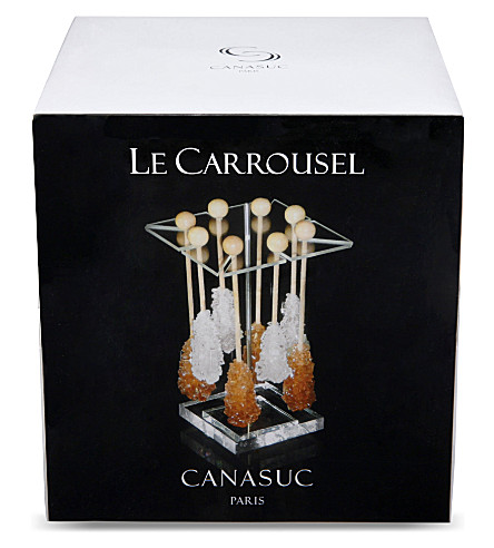 CANASUC Candy stick carousel with stand