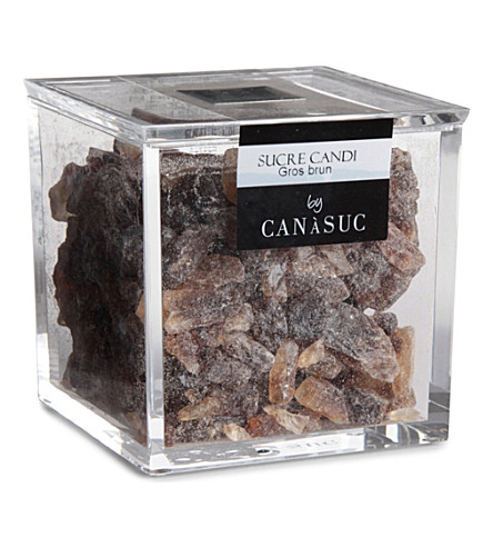 CANASUC Crystal-shaped brown sugar cube box