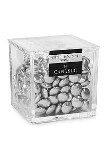 CANASUC Silver chocolate cube pepites