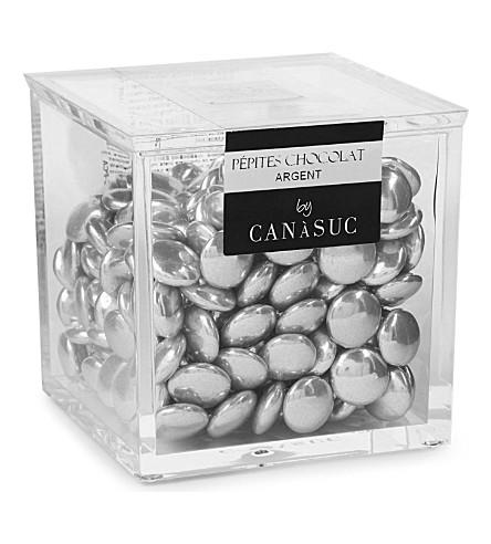 CANASUC 银色巧克力立方体 pepites