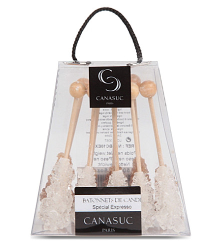 CANASUC Box of ten espresso sugar sticks