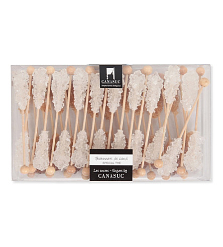 CANASUC Box of 40 tea sugar sticks