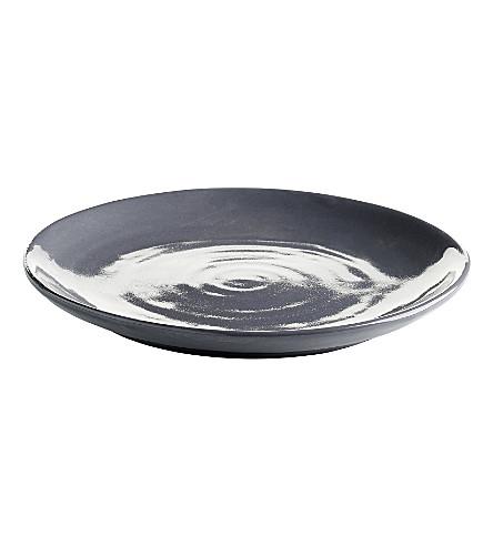 TINEKHOME DELI ceramic plate grey 23cm