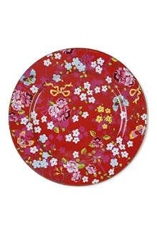 PIP STUDIO Pink dinner plate 32cm