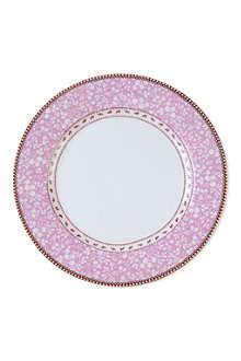 PIP STUDIO Pink plate 26.5cm