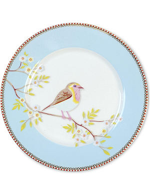 PIP STUDIO Blue breakfast plate 21cm
