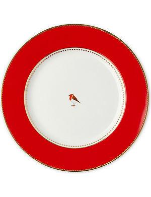 LOVE BIRDS Love birds dinner plate red 26.5cm