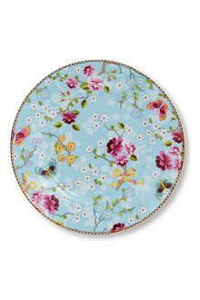 PIP STUDIO Blue side plate 17cm