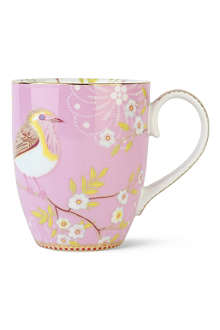 PIP STUDIO Large pink early bird mug