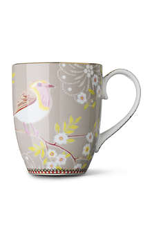 PIP STUDIO Large khaki early bird mug
