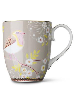 PIP STUDIO Large khaki early bird mug