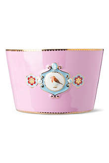 PIP STUDIO Love Birds bowl pink 12.5cm