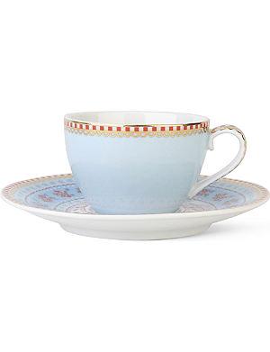 PIP STUDIO Blue espresso cup and saucer