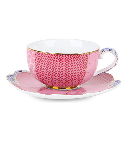 PIP STUDIO Royal espresso cup and saucer