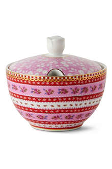 PIP STUDIO Pink sugar bowl