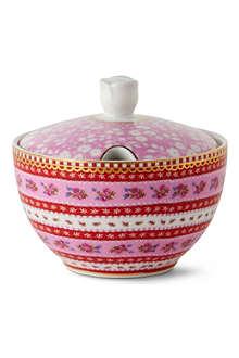 PIP STUDIO Pink sugar bowl