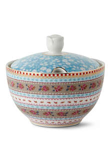 PIP STUDIO Blue sugar bowl