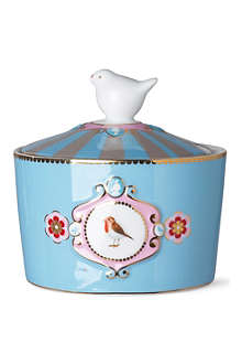 LOVE BIRDS Medallion sugar bowl