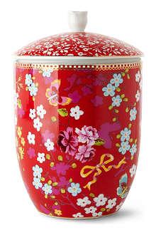 PIP STUDIO Chinese rose storage jar