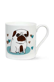 BEAST IN SHOW Pugs Not Drugs mug