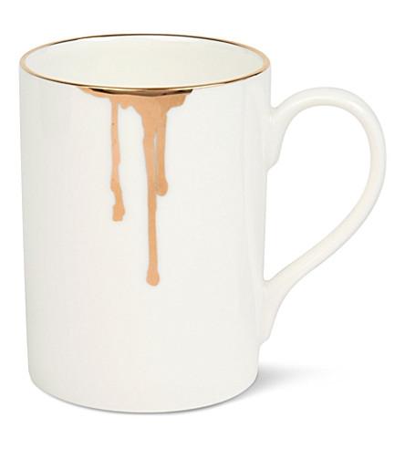 REIKO KANEKO Drip tease china mug