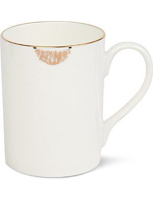 REIKO KANEKO Lip tease mug gold