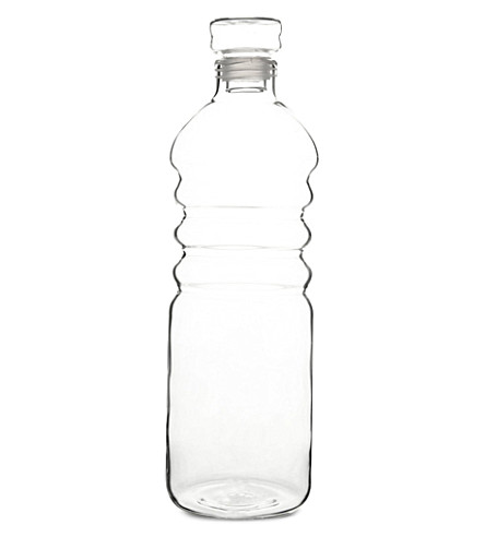 SERAX Glass water bottle small