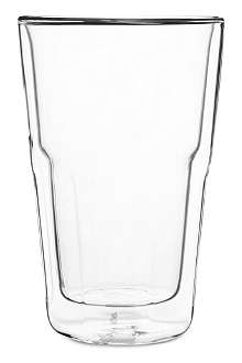 SERAX Glass double wall cappuccino beaker