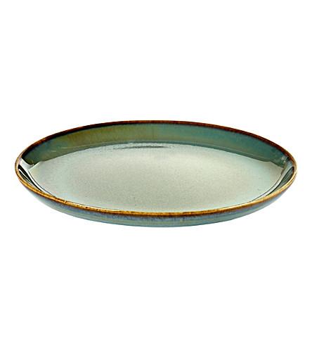 SERAX Terres de Rêves small stoneware plate 13cm