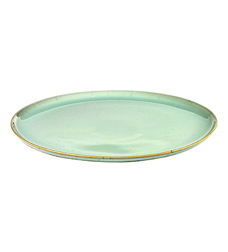 SERAX Terres de Rêves large stoneware plate 26cm