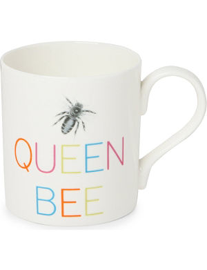 GARY BIRKS Queen Bee slogan mug