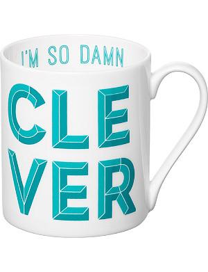 GARY BIRKS Damn Clever mug
