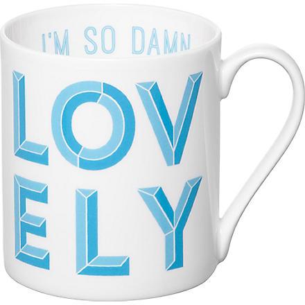 GARY BIRKS Damn Lovely mug