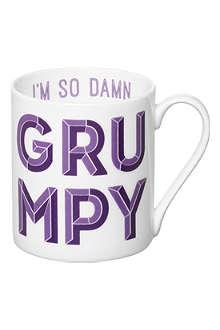 GARY BIRKS Damn Grumpy mug