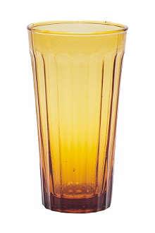 BITOSSI HOME Long drinking glass amber