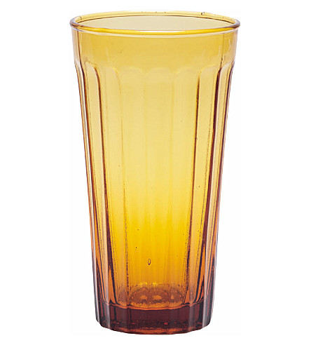 BITOSSI HOME Long drinking glass amber