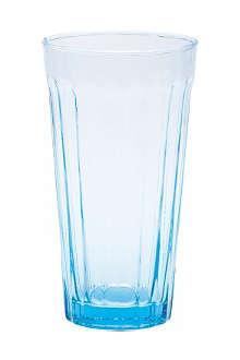 BITOSSI HOME Long drinking glass blue