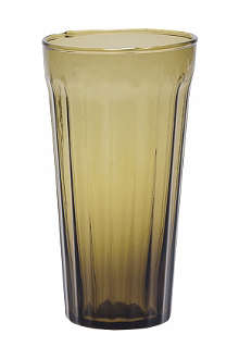 BITOSSI HOME Long drinking glass olive