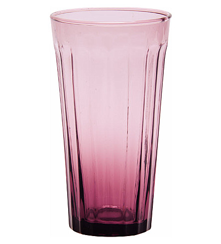 BITOSSI HOME Long drinking glass purple
