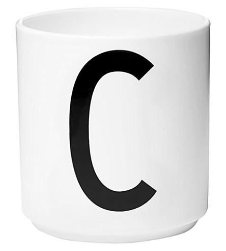 DESIGN LETTERS C porcelain cup
