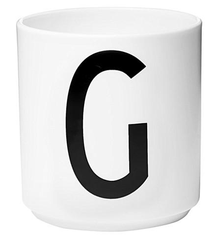 DESIGN LETTERS G porcelain cup