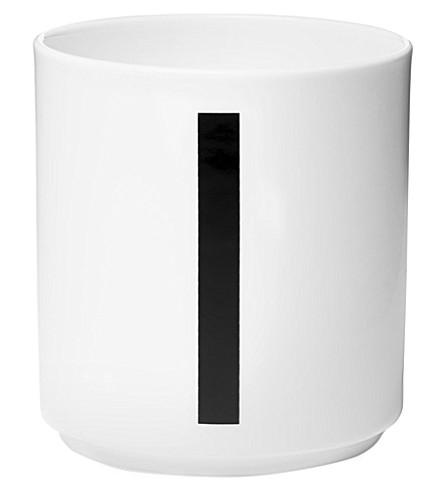 DESIGN LETTERS I porcelain cup