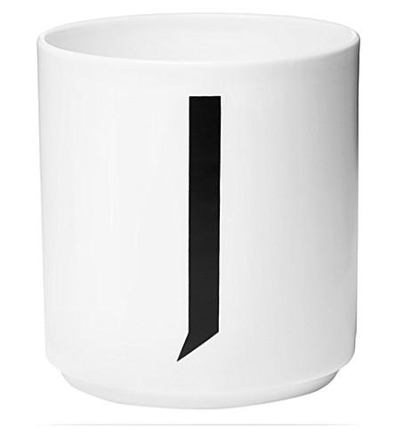 DESIGN LETTERS J porcelain cup
