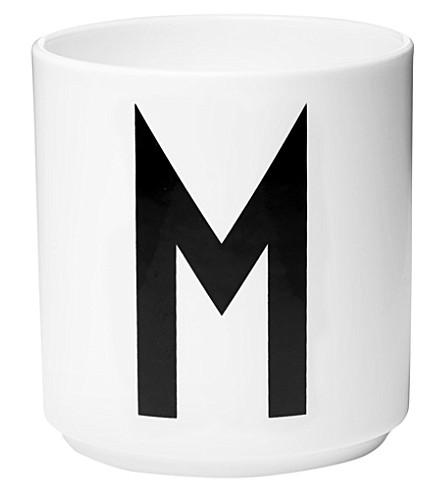 DESIGN LETTERS M porcelain cup