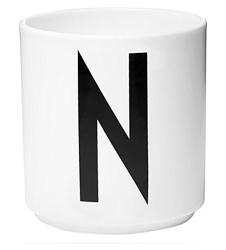 DESIGN LETTERS N porcelain cup